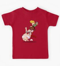Flying High With Underpants Kids Tee