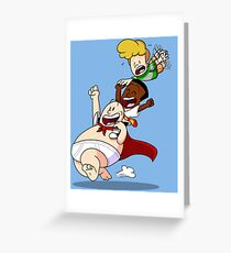 Flying High With Underpants Greeting Card