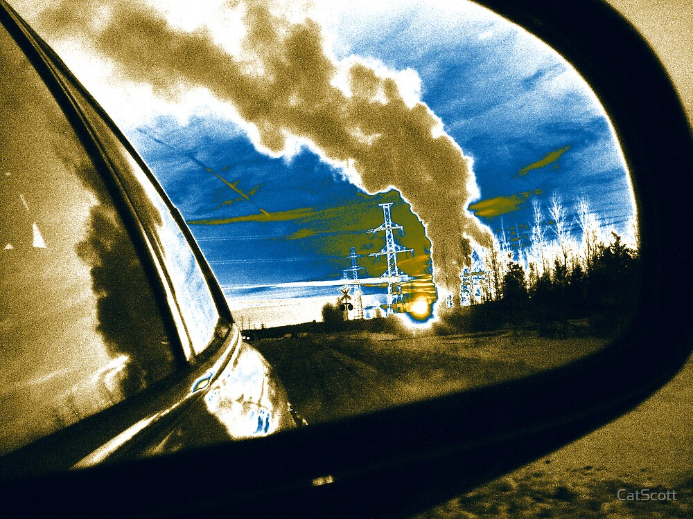 Smoke in Mirrors are Larger than they Appear by CatScott