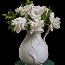 Gardenia Bouquet  by Heather Friedman