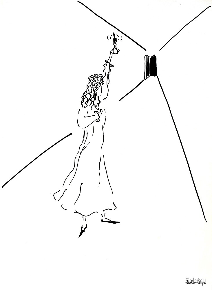 Sketch of fear by Solotry