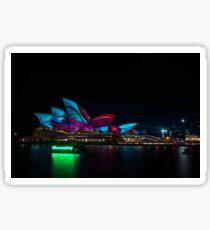 Everyone loves Sydney at Vivid Sydney Festival Sticker