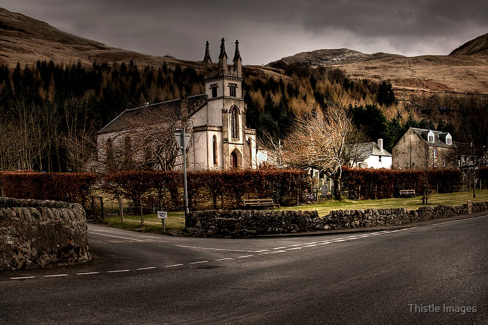 Arrochar Scene by Thistle Images