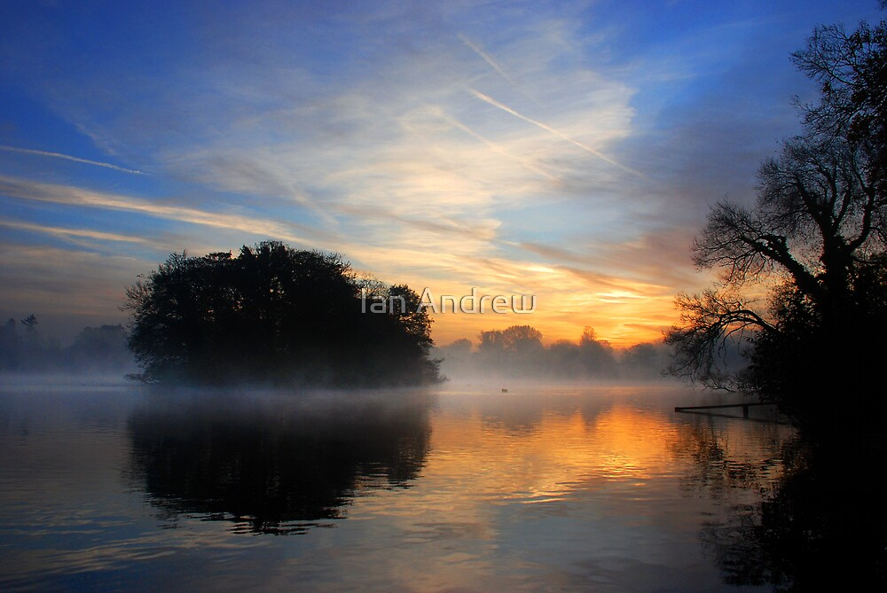 Sunrise on the Mere by Ian Andrew