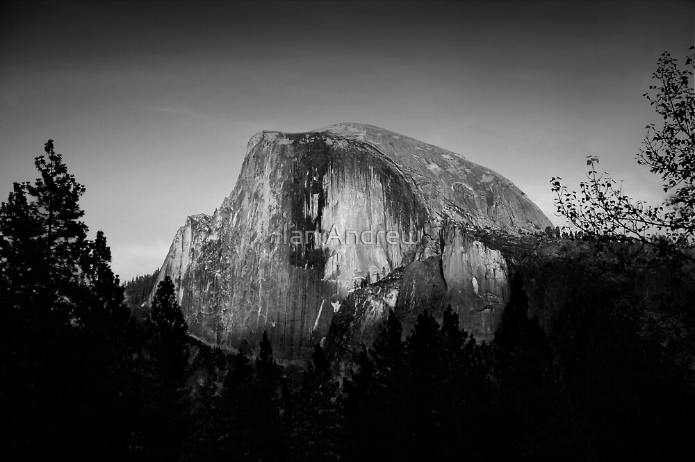 Half Dome - Face by Ian Andrew