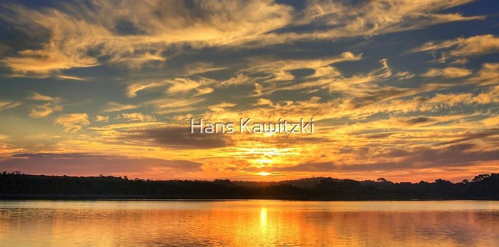 0973 Sunset Reflection  by Hans Kawitzki