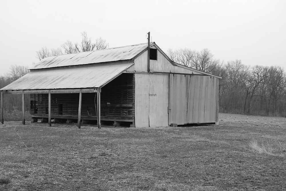 Broken Barn by lukebrod