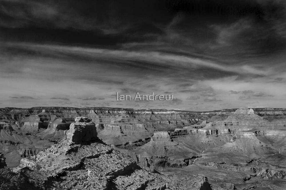 Grand Canyon Vista by Ian Andrew