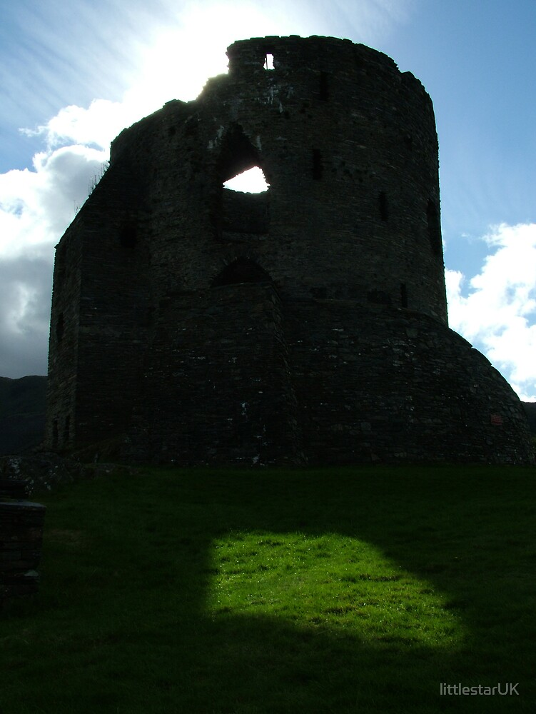 Dolbardarn Castle, North Wales by littlestarUK