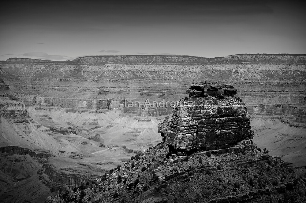 O'Neils Butte, the Grand Canyon by Ian Andrew