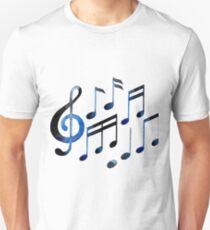 Watercolor musical notes T-Shirt