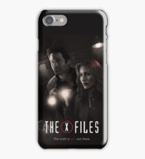 The X-files Poster s11 n°2 iPhone Case/Skin