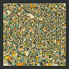MILAN MAP by JazzberryBlue