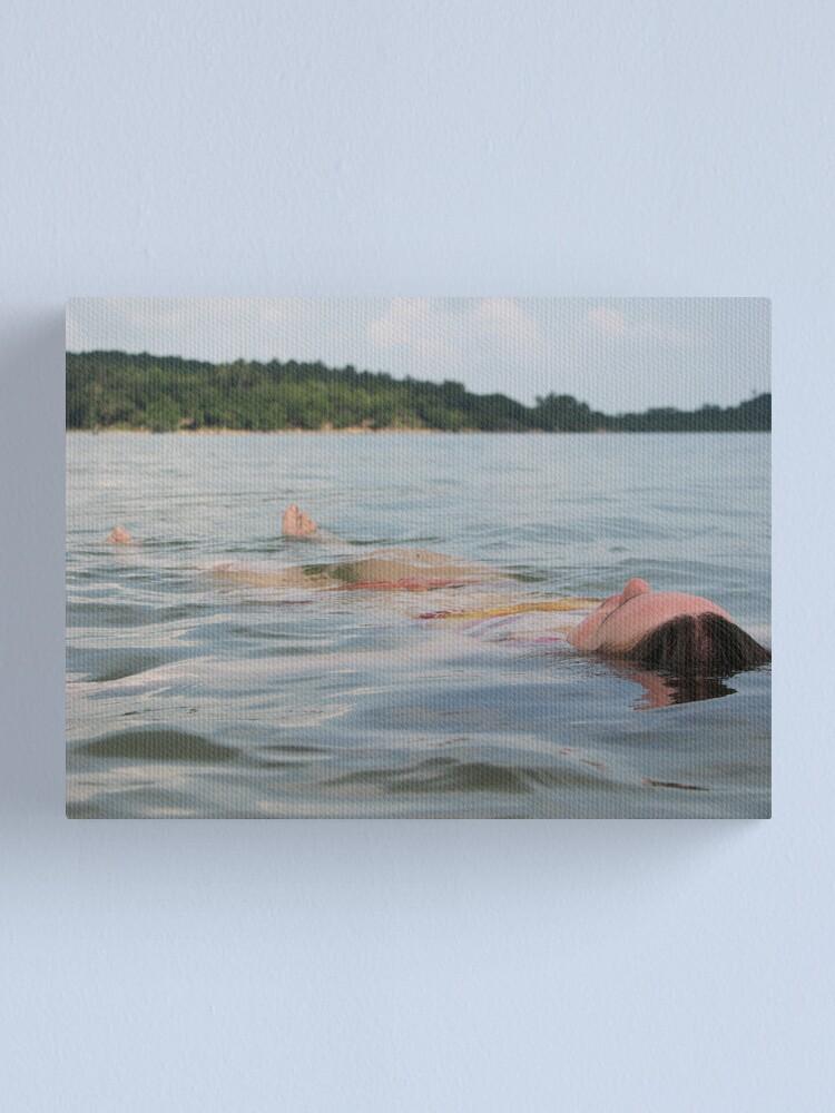 Alternate view of Floatting away Canvas Print