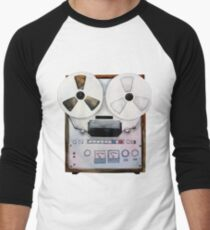 Watercolor reel tape recorder T-Shirt