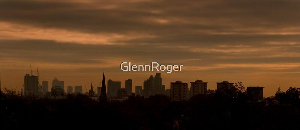 Sunrise Over London by GlennRoger