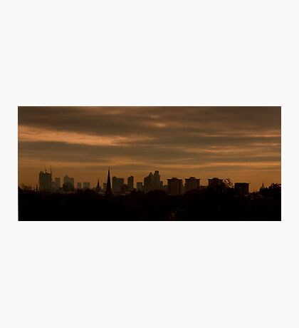 Sunrise Over London Photographic Print