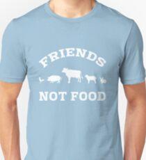 Friends Not Food - black T-Shirt
