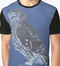Australian Barking Owl, colour pencil art Graphic T-Shirt
