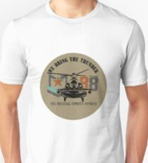American Army helicopter illustration  Unisex T-Shirt
