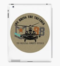 American Army helicopter illustration  iPad Case/Skin