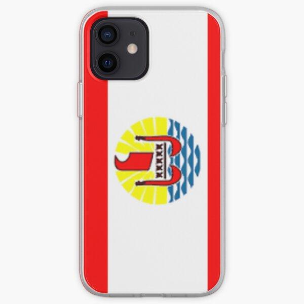 Drapeau de Tahiti Coque souple iPhone