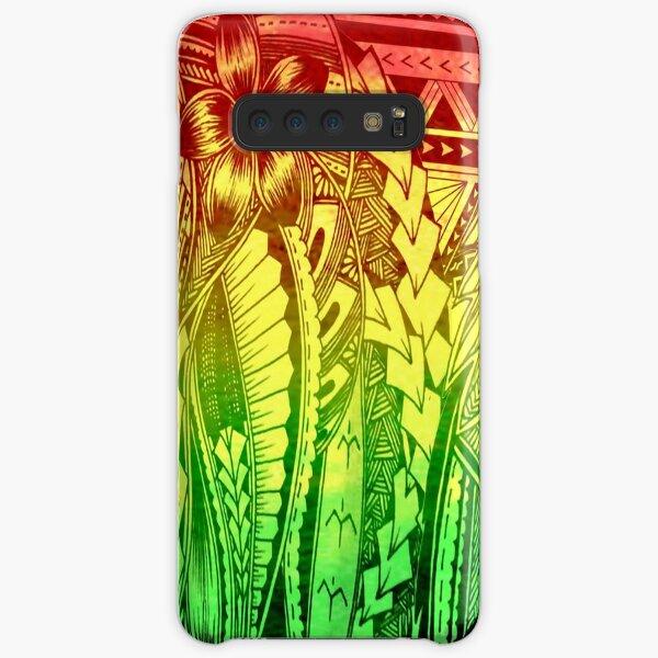 Polynesian reggae Samsung Galaxy Snap Case