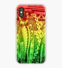 Polynesian reggae iPhone Case