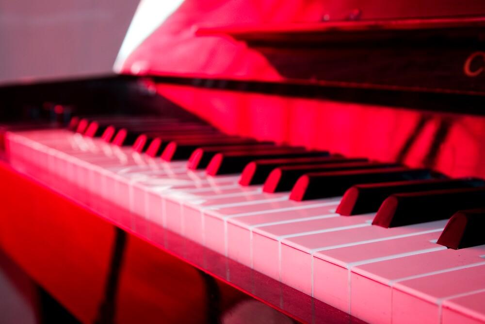 Piano Keys by Van Deman Design