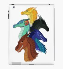 Wings of Fire First Arc Main Characters iPad Case/Skin