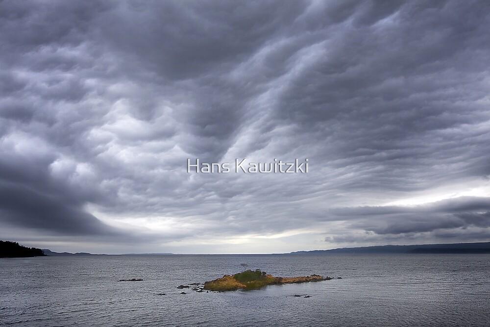 0983 Tiny Island - Macquarie Harbour by Hans Kawitzki
