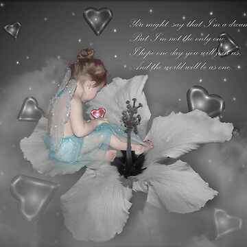 Imagine (In Selective Coloring) by cheerishables