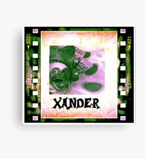 Xander - personalize your gift Canvas Print