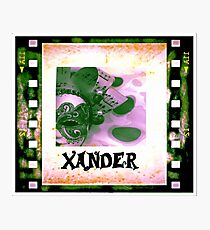 Xander - personalize your gift Photographic Print