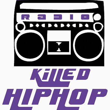 The Radio Killed Hip-Hop by reynoirjr