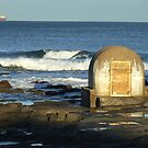 Cowrie Hole @ Newcastle Beach, Australia by troyw