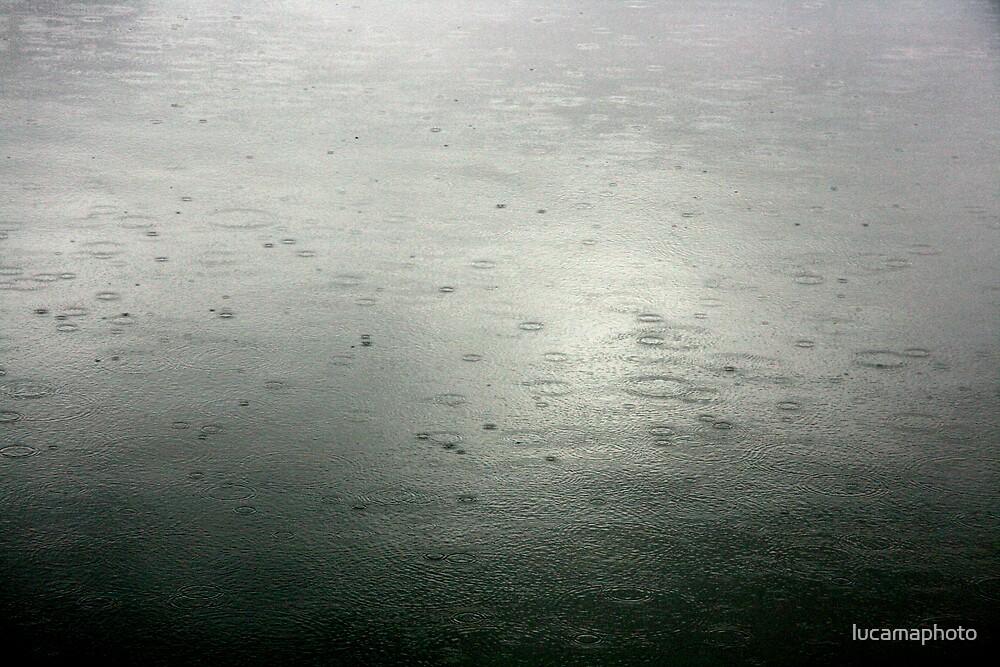 silver rain by lucamaphoto