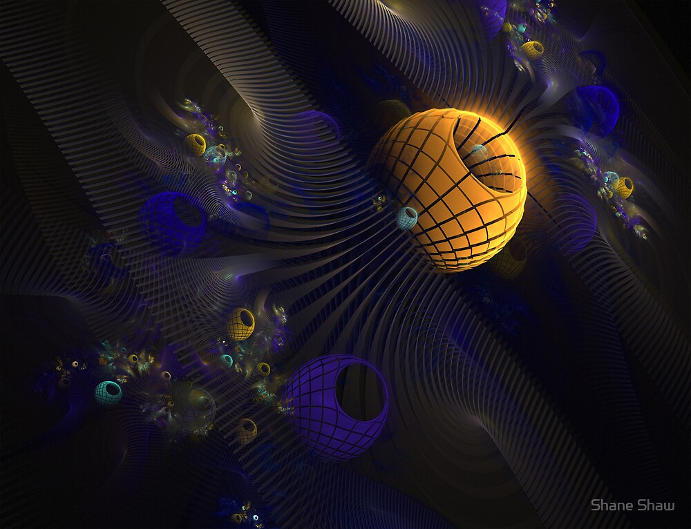 Abstract Space by Shane Shaw