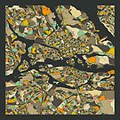STOCKHOLM MAP by JazzberryBlue