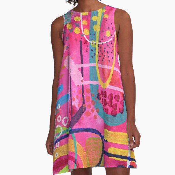 EmmaJonesArt Vivid A-Line Dress