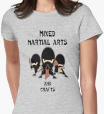 Mixed Martial Arts...and crafts Women's Fitted T-Shirt