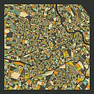 VIENNA MAP by JazzberryBlue