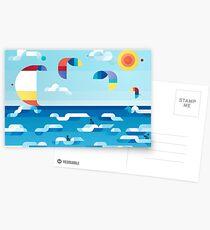 Kites dance Postcards