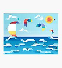 Kites dance Photographic Print