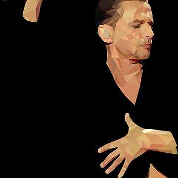 Dave Gahan - Depeche Mode by StewartMair