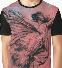 Floating Dancer Pink Graphic T-Shirt