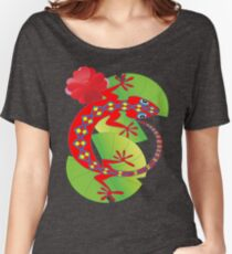Connection to the Spirit World (Lizard)  Women's Relaxed Fit T-Shirt