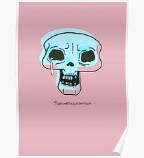 Skull Blink Poster