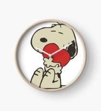 Snoopy love Clock