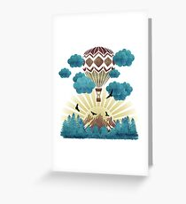 Joyful Nature Greeting Card